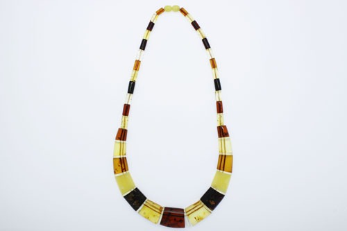 Natural Baltic Amber Cleopatra Necklace