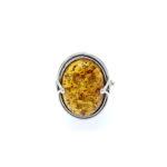 Genuine Baltic Amber Ring