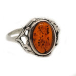 Authentic Baltic Amber Ring