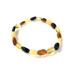 Natural Baltic Amber Bracelet. www.amberman.com