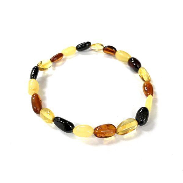 Natural Baltic Amber Bracelet. www.amberman.com