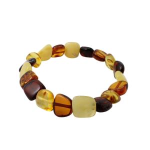 Genuine Baltic Amber Bracelet. www.amberman.com