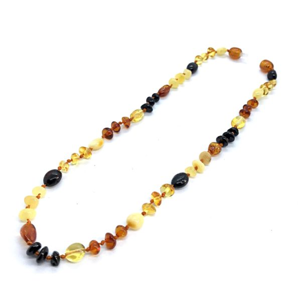 Natural Baltic Amber Necklace for Kids