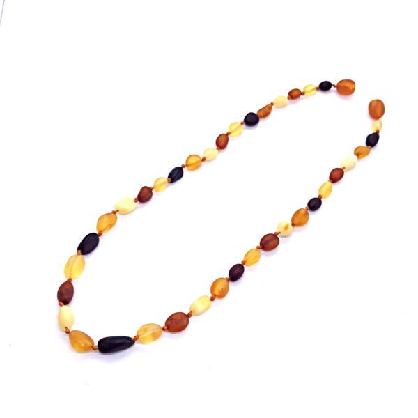 Genuine Raw Baltic Amber Necklace for Kids