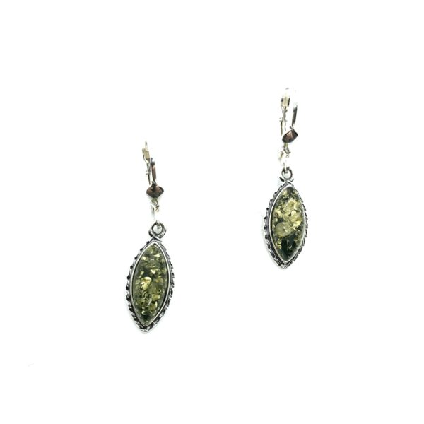 Baltic Amber Sterling Silver Earrings