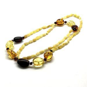 Baltic Amber Multi Color Necklace