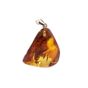 Free Form Amber Castle/Ship Carving