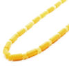 Butterscotch Amber Vintage Cut Beaded Necklace