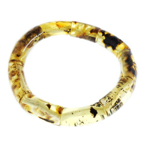 Natural Baltic Amber Stretch Bracelet