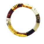 Multi Color Amber Stretch Bracelet
